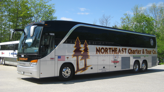 Charter Bus Rental Maine