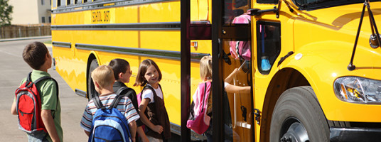 Maine school transportation services, School bus service