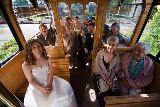 Maine wedding shuttles