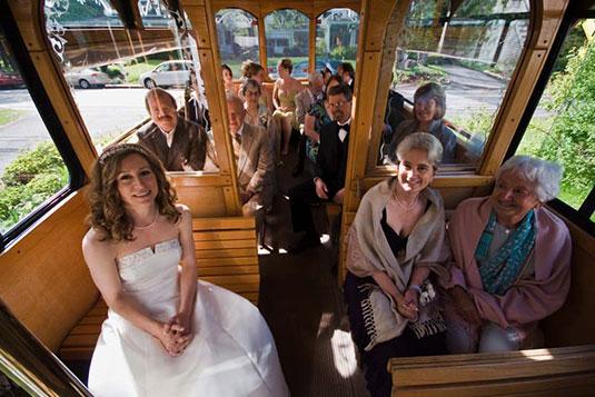 Maine wedding shuttles